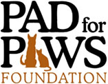 Pad for Paws Logo Graphic